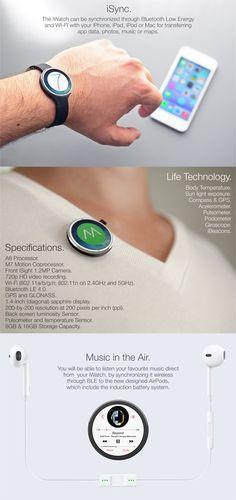 Apple iWatch by Tomas Moyano, via Behance