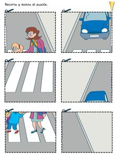 Los duendes y hadas de Ludi: Libro de educación vial Safety Rules For Kids, Learn Chinese, Teaching Materials, 4 Year Olds, School Projects, Childcare, Preschool Activities, Diy For Kids, Kids Playing