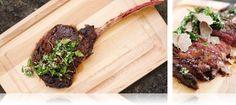 Kobe Beef Tomahawk Steak - MarxFoods.com Blog