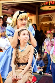 Alice and Little Poca, so cute