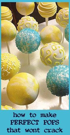 3 Things to Know about Cake Pops.