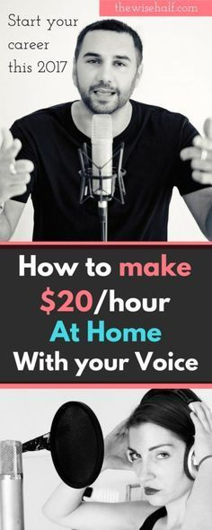 to earn from home as a voice artist. Do you have a good talking voice? Here's how you can land your first online voice acting gig. voice-actingDo you have a good talking voice? Here's how you can land your first online voice acting gig. voice-acting Earn Money Online Fast, Ways To Earn Money, Way To Make Money, Money Fast, Money Tips, Quick Money, Free Money, Earn Money From Home, Make Money Blogging