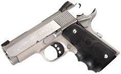 Colt Defender, Rubber Grips, SS/AL .45ACP Speed up and simplify the pistol loading process  with the RAE Industries Magazine Loader. http://www.amazon.com/shops/raeind