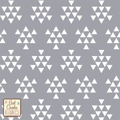 White Triangle Arrows on Grey Cotton Jersey Blend Knit Fabric- girl charlee fabrics Arrow Design, Fabulous Fabrics, Fabric Online, Needle And Thread, Knitting Projects, Knitted Fabric, Fabric Crafts, Sewing Patterns, Quilts