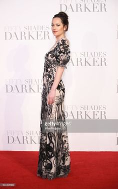 Dakota Johnson attends the 'Fifty Shades Darker' - UK Premiere on February 9, 2017 in London, United Kingdom.