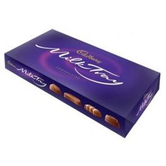 An assortment of delicious individual chocolates all smothered in Cadbury Milk Chocolate - the nations favourite. This box is exclusive to us for Christmas 2013!