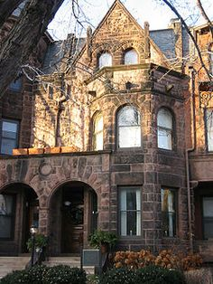 The F. Scott Fitzgerald House, also known as Summit Terrace, in Saint Paul, Minnesota is part of a rowhouse designed by William H. Willcox and Clarence H. Johnston, Sr.. The house, at 599 Summit Avenue, is listed as a National Historic Landmark for its association with author F. Scott Fitzgerald.