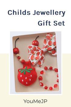Summer delight strawberry themed gift set
