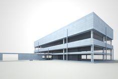 2011; Bürogebäude, Monte Carasso; Wettbewerbsprojekt