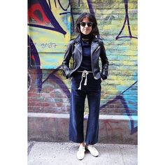 "Leandra Medine - If you've ever read Leandra's book, Man Repeller: Seeking Love. Finding Overalls., you'll know she grew up in a Orthodox Jewish household. Her style choices are based on what she finds comfortable, which is typically something covered up and not conventionally considered ""sexy."""