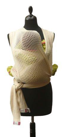#Echarpe de portage en #coton bio pour #bebe