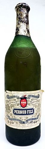 Full 1 liter sealed bottle of Absinthe   Pernod Fils Tarragona from the 60's with   intact label and a very good level. A very   nice bottle and a legendary absinthe!.