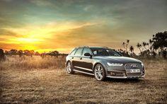 Idealne zakończenie dnia. #Audi #A6 #allroad #quattro