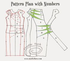 well-suited: Pattern Puzzle - Twist Panel Jersey Dress