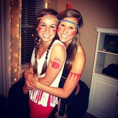 Native American costumes, this would be fun to make
