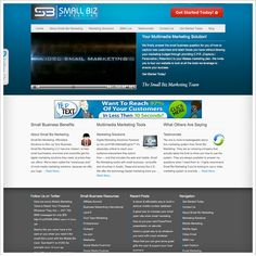 Website: Small Biz Marketing - smbizmarketing.com  Design/Development: Emergent Interactive - emergentinteractive.com