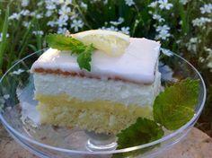 Zitronenschnitten, ein fruchtiger Sommergenuß