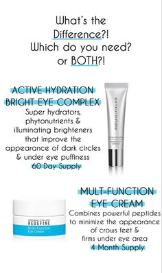 Illuminating, hydrating gel cream to diminish the look of dark circles, puffiness and tired eyes. Supercharged with phytonutrients, caffeine and illuminating brighteners to nourish and refresh the eye area. Anti Aging Eye Cream, Best Eye Cream, Dark Circles Under Eyes, Dark Under Eye, Multifunction Eye Cream, Rodan Fields Skin Care, Homemade Eye Cream, Rodan And Fields Business, Rodan And Fields Consultant