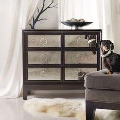 Hooker Furniture Melange Curlacue 3 Drawer Chest & Reviews | Wayfair