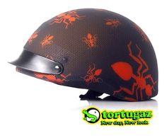 Tortugaz™ Universal Bicycle Skateboard Helmet Cover Skin Protector Red Ants