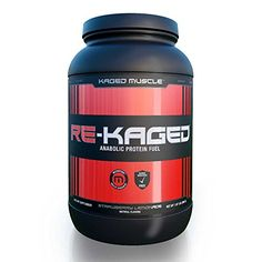 Kaged Muscle REKAGED MAX Recovery Post Workout Protein Powder with BCAAs Creatine and Glutamine Strawberry Lemonade 2lb ** More info could be found at the image url.