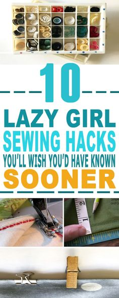 These are the most AMAZING sewing hacks!! Glad to have found these genius sewing tricks and tips for beginners too. Already helped me a lot. Pinning for sure.