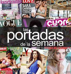 Las #portadas de la semana #Revistas Magazine Covers, Pictures