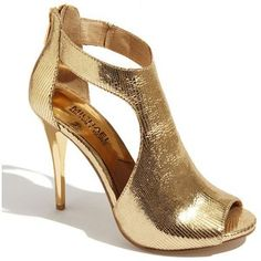 Love and in need of gold shoes. Michael Kors