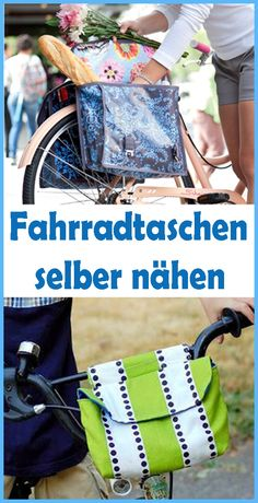 DIY Fahrradtasche selber nähen – Einfache Anleitung & Schnittmuster Have you ever tried to sew a bike bag yourself? A bike bag is not only practical, it also looks chic. Sewing Blogs, Sewing Hacks, Sewing Tutorials, Sewing Projects, Sewing Patterns Free, Free Sewing, Hand Sewing, Diy Simple, Bike Bag