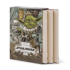 The original trilogy by William Shakespeare: Verily, A New Hope; The Empire Striketh Back; and The Jedi Doth Return.