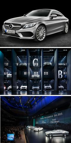 "Not to be missed: Mercedes-Benz lit up the IAA Cars 2015—along with a whole host of premieres. The Mercedes-Benz C-Class Coupé and Mercedes-Benz S-Class Cabriolet world premieres were the highlights of the ""Mercedes Dream Car Collection"" at the IAA in Frankfurt."