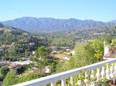 10/05/2005 Glendale, vue de la montagne de Los Angeles