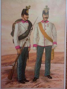 Austrian 38th infantery regiment, 1866