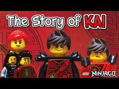 Lego Ninjago: THE STORY OF KAI - YouTube Lego Ninjago Minifigures, Legoland, Kai, The Creator, Creative, Youtube, Lego Ninjago Figures, Youtubers, Youtube Movies