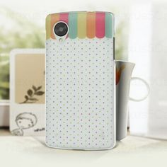 Cute PC Back Cover Case for Google Nexus 5 Polka Dot