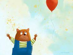 Image result for children's book digital illustrations Red Balloon, Balloons, Childrens Books, Illustrations, Image, Children's Books, Globes, Children Books, Books For Kids