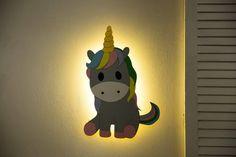 Unicorn Nursery Lighting Baby Room Night light bedroom light | Etsy Cloud Night Light, Nursery Night Light, Light Bedroom, Kids Room Lighting, Nursery Lighting, Room Lights, Water Based Acrylic Paint, Unicorn Wall, Nursery Room Decor