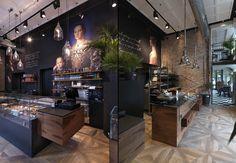 Кафе-пекарня Binary 11 в Милане | Дизайн интерьера, декор, архитектура, стили и о многое-многое другое