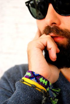 MEN'S FASHION Handwoven for Men Friendship Bracelet Aztec by TheTreeOfHappiness, $10.90