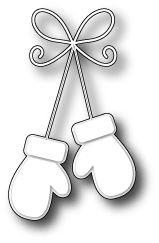 Karten-Kunst - Stempel- und Scrapbook-Shop - Memory Box Stanzschablone - Precious Mittens