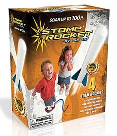 Stomp Rocket Junior - Tons of outdoor fun! {Chinaberry}
