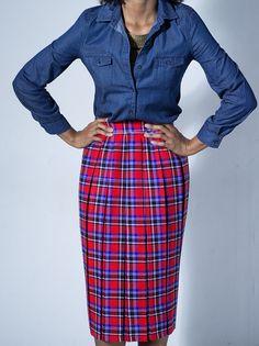 Tisa accordian pleat skirt by Tatusi