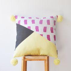 "NEW! Decorative Geometric Pillow, Kids Pillows, Modern Nursery Pillow, Teen Pillow, Throw Pillow 16"" x 16"" by LoveJoyCreate on Etsy"