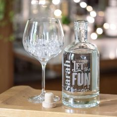 Personalised Engraved Let The Fun Be-Gin | Aye Do Gifts UK