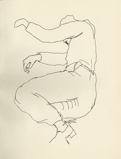 Jean Desbordes by Jean Cocteau