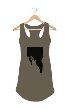 Rock Climber Women's Tank Top    #Apparel  #GoOutLocal #OnlyinIdaho #Boise #WomensTankTop #Climb
