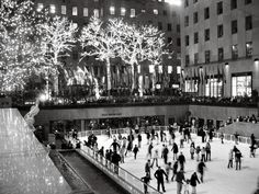 Adding this to my bucket list just so I can cross it off this weekend...  Take Poo ice skating at Rockefeller Center!!!