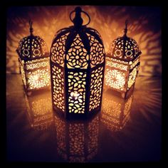 Larger Art Deco Morrocan Lantern. Perfect for the living room in the winter.