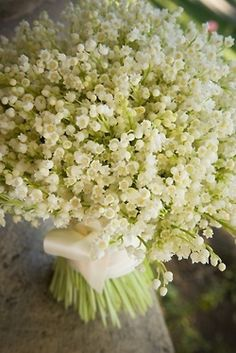 Lily of the Valley bouquet. Beautiful.