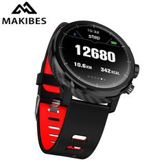 Makibes Smart Watches Standby for 100 days waterproof Weather Smartwatch Support Led lighting Message call reminder Wearable Device, Wearable Technology, Technology Gadgets, Google Phones, Remote Camera, Cool Tech Gadgets, Apple Watch Series, Watch Bands, Phone Accessories